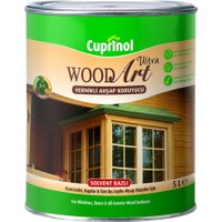 Marshall Cuprinol Wood Art Ultra Vernikli Ahşap Koruyucu 106-Maun 5 Lt