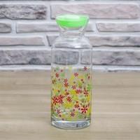 JOY GLASS Çiçekli Karaf/Şişe