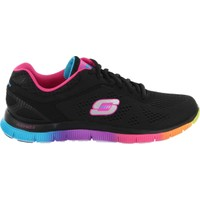 Skechers Flex Appeal Kadın Siyah Spor Ayakkabı (11880-Bkmt)