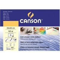 Canson Resim Defteri 35x50 cm 165 gr.
