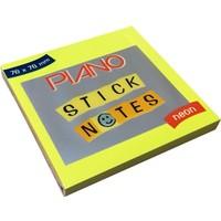 Piano 76x76 cm Yapışkanlı Not Kağıdı Neon Postit