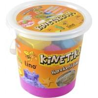 Lino Kinetik Kum Pembe 1000 gr. Kovalı 10 Adet Kalıp Hediye