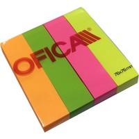 Ofica Postit 76x76 mm (19x76 mm den 4 Adet) Yapışkanlı Kağıt