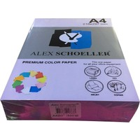 Alex Schoeller A4 Fotokopi Kağıdı 500 lü Mor 585