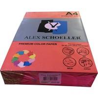 Alex Schoeller A4 Fotokopi Kağıdı 500 lü Kırmızı 650