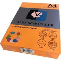 Alex Schoeller A4 Fotokopi Kağıdı 500 lü Fosforlu Turuncu 771