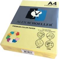Alex Schoeller A4 Fotokopi Kağıdı 500 lü Sarı 560