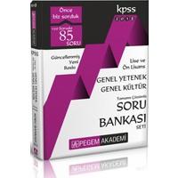 KPSS Lise ve Önlisans Adaylar İçin Genel Yetenek- Genel Kültür Soru Bankası Modüler Set (5 Kitap)