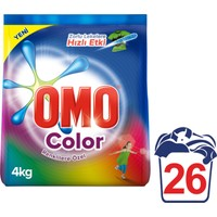 Omo Toz Çamaşır Deterjanı Color 4 kg