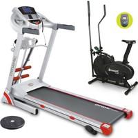 Dynamic FluenceM Plus Masajlı Motorlu Koşu Bandı + R102N Eliptik Bisiklet + Twister Hediyeli