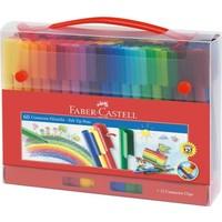Faber-Castell Eğlenceli Keçeli Kartlı, 60'lı Set