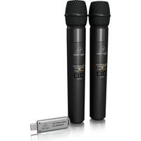 Behringer ULM202USB Kablosuz USB Mikrofon (ikili set) -