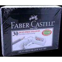 Faber Castell 1887/30 Beyaz Silgi 30' lu