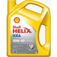 Shell Helix HX6 10w/40 - Mercedes / Volkswagen / Renault / Fiat Onaylı Benzinli Dizel Motor Yağı ( Üretim Yılı:2017)