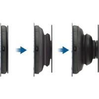 Case 4U Popsockets Telefon ve Tabletler için Stand ve Parmak Tutucu - Siyah