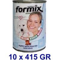 Formix Kümes Hayvanlı Yavru Köpek Konservesi 415 Gr x 10