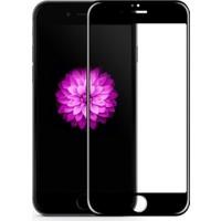 Case 4U Apple iPhone 6 Full Kapatan Mat Parmak İzi Bırakmayan Cam Ekran Koruyucu Siyah