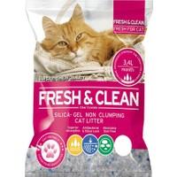 *Fresh - Clean Silika Kristal Kedi Kumu 3.4 Lt 1,4 Kg