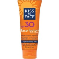 Kiss My Face Yüz Ve Boyun Bölgesi İçin Yağsız Güneş Koruyucu Spf 30