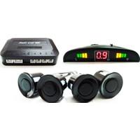 Park Sensör Ekranlı Sesli Açma Kapama Düğmeli Siyah