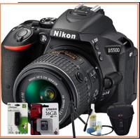 Nikon D5500 Dslr Fotoğraf Makinesi 18-55Mm Vr Lens Kitli