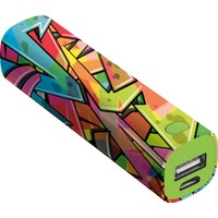 Trust Urban 20868 2600 Mah Graffiti Powerbank Oklar