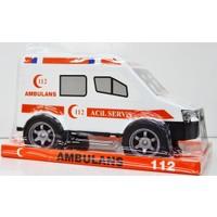 Can Oyuncak Cn2033 Vakumlu Plastik Ambulans