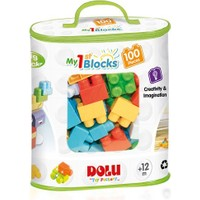 Dolu Oyuncak 5020 Büyük Bloklar 100 Parça Baskılı Torbada