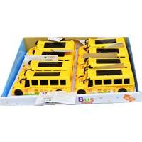 Erkol Oyuncak 0909 Okul Otobüsü - Işıklı + Pill - Kutusu 8'li - Funny School Bus +3 Yaş