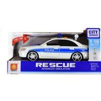 Erkol Oyuncak Wy560A C Servis Aracı - Polis - Taxi - Işık + Ses - City Service +3 Yaş