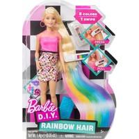 Mattel Ffk05 Brb - Barbie Gökkuşağı Saçlar - Barbie İle Moda ve Güzellik