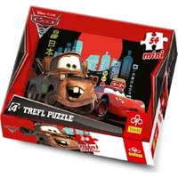 Vardem Oyuncak 54097 54 Pcs Mini Puzzle Cars 2 19360 - 3