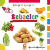 Eğleniyorum Öğreniyorum Serisi(Türkçe - İngilizce):Sebzeler