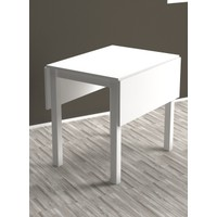 Monte Sehpa Katlanabilir Masa Beyaz