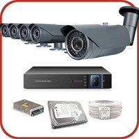 Promax Pro2042S 5'Li 3 Megapiksel Sony Lens 1080P Aptina Sensör Güvenlik Kamerası Seti