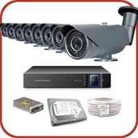 Promax Pro2042S 8'Li 3 Megapiksel Sony Lens 1080P Aptina Sensör Güvenlik Kamerası Seti