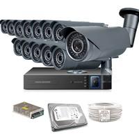 Promax Pro2042S 13' Lü 3 Megapiksel Sony Lens 1080P Aptina Sensör Güvenlik Kamerası Seti