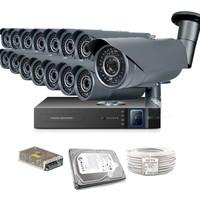 Promax Pro2042S 15' Li 3 Megapiksel Sony Lens 1080P Aptina Sensör Güvenlik Kamerası Seti