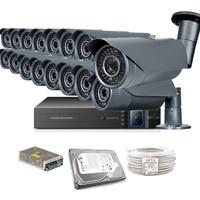 Promax Pro2042S 16' Lı 3 Megapiksel Sony Lens 1080P Aptina Sensör Güvenlik Kamerası Seti