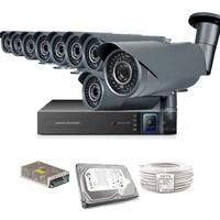 Promax Pro1342S 9' Lu 3 Megapiksel Sony Lens 720P Aptina Sensör Güvenlik Kamerası Seti