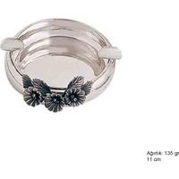 Meryemzeynep Orkide Motifli Gümüş Küllük