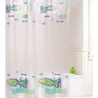 Primanova Minnow Çift Kanatlı PVC Banyo Duş Perdesi