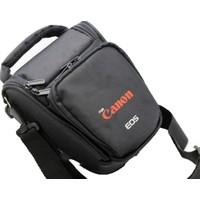 Haskan Canon 70D Fotoğraf Makinesi İçin Profesyonel Üçgen Çanta