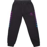 Hummel Hmt38431-2001 Colurful Pants Aw17 Çocuk Eşofman Altı Siyah