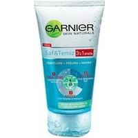 Garnier Saf Ve Temiz 3'Ü 1 Arada Temizleme - Peeling - Maske 150 Ml