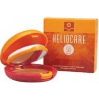 Heliocare Compact Oil Free Brown Spf50 Yağsız Kompakt Esmer Ten 10Gr