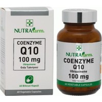 Dermoskin Nutrafarm Coenzyme Q10 100 Mg 60 Kapsül