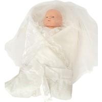 Şık Mecit 220 Dantelli Bebek Battaniye