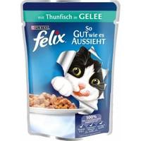 Felix Ton Balıklı Yetişkin Kedi Konservesi 20X100 Gr