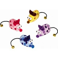 Nobby Catnipli Renkli Peluş Fare Kedi Oyuncağı 6.5 cm 2'li Paket